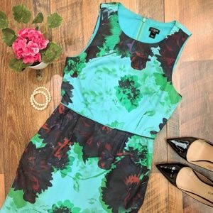 "J. Crew Factory ""Hothouse Floral"" sheath dress"